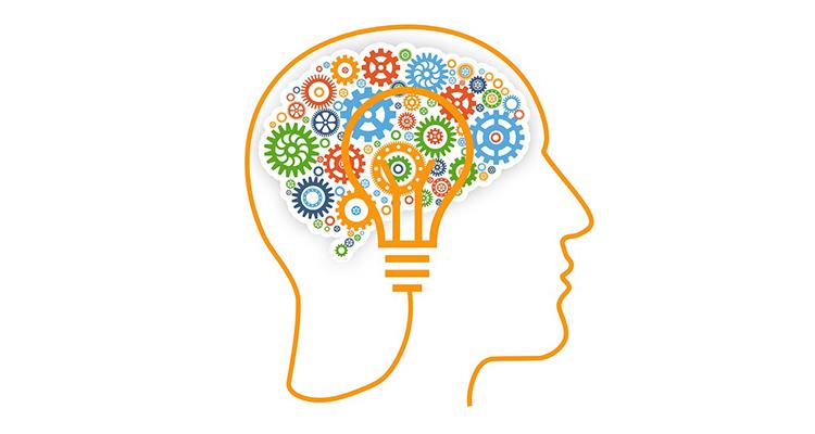 representación simbólica del funcionamiento del cerebro
